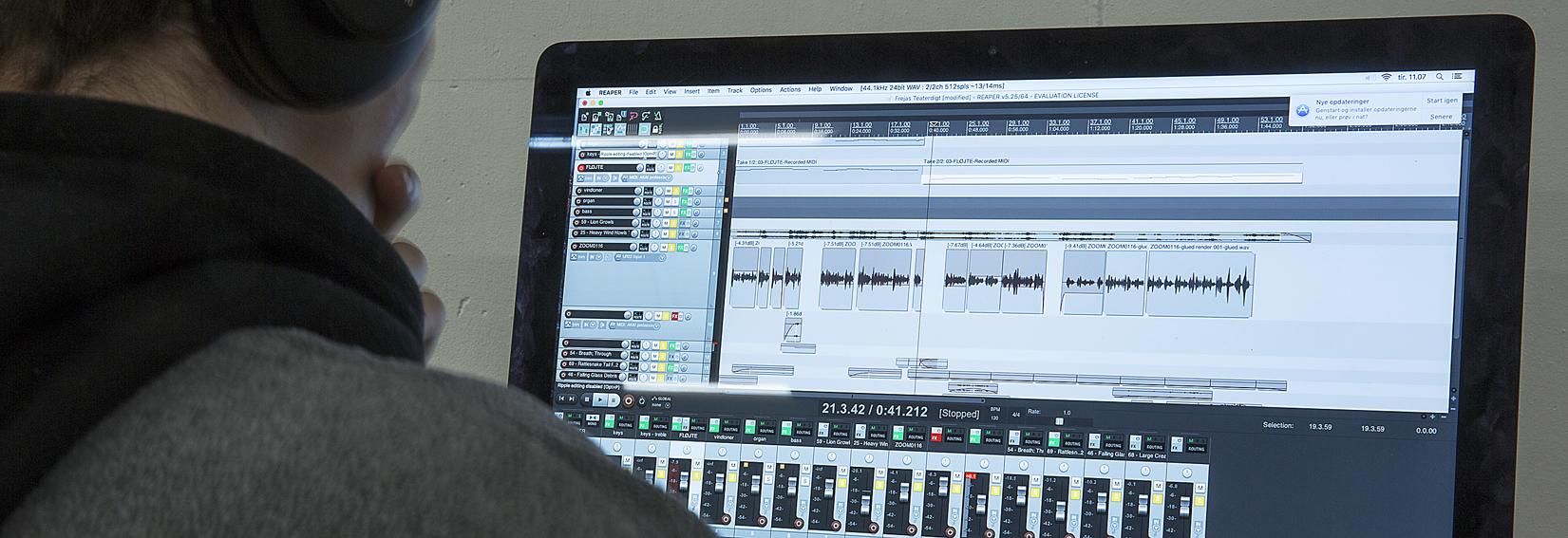 Elektro. musik banner net